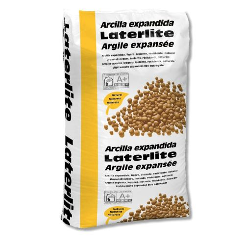 Laterlite Expanded Clay:  Lightweight Insulating Strong Aggregate