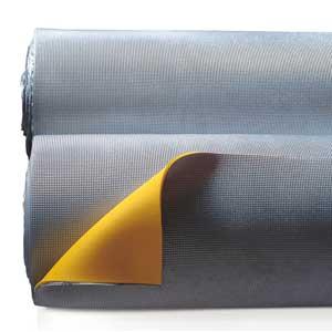 Calpestop: Under-screed impact sound acoustic mat